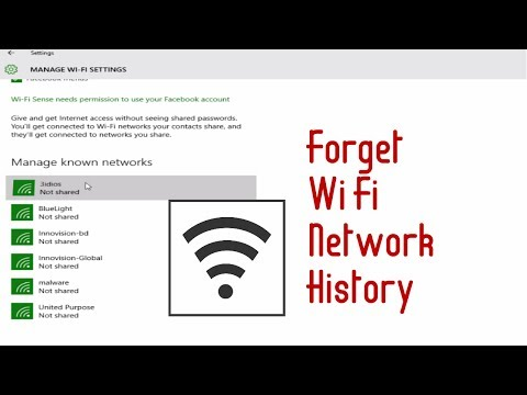 How to delete wifi history network in windows 10 - free & easy - forget wifi