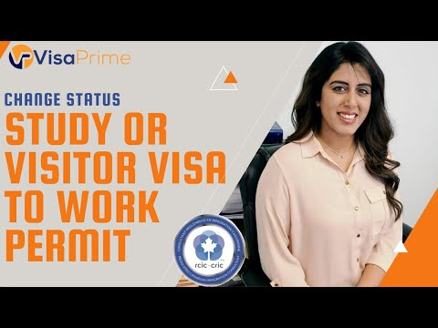 Convert student or visitor visa to work permit | canada immigration 2021|approval in 7 days!!