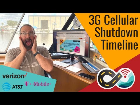 3g cellular network shutdown timeline for verizon, at&t and t-mobile/sprint