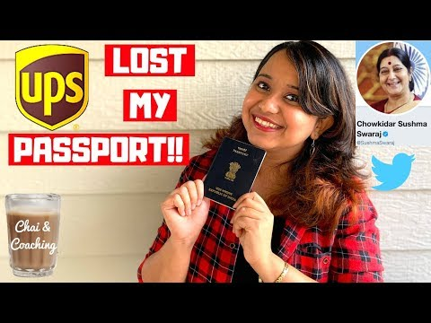 Lost passport process international student   how to replace your passport in usa   ups failed me!
