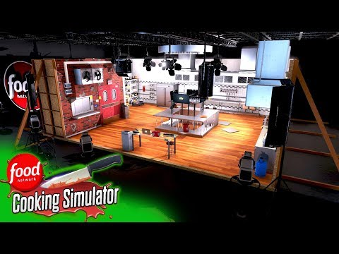 Got my own cooking show! - cooking simulator: cooking with food network