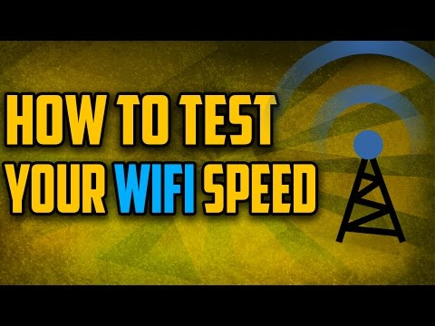 How to test your wifi speed