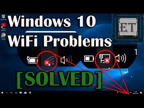 How to fix wifi connection problems in windows 10 8 7- red x on wifi [8 fixes]