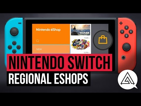 Nintendo switch   how to access different regional eshops - us, japanese & europe