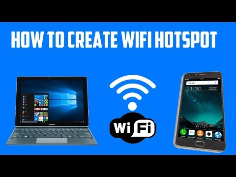 How to share internet from windows 10 laptop | make wifi hotspot