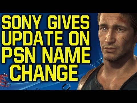 Sony gives update on ps4 name change (ps4 new update 2017 - how to change your ps4 gamertag 2017)