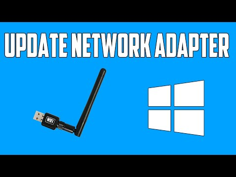 How to update network adapter drivers in windows 10