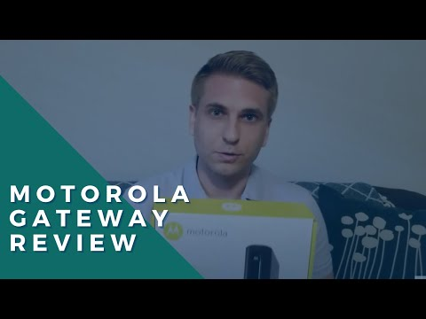How to set up the motorola cable modem router model mg7315 (comcast xfinity approved device)