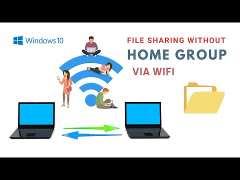 Share files on a network windows 10 - using file explorer [without homegroup]