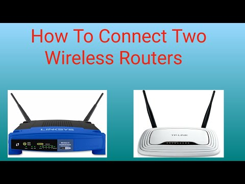 Connect two wireless routers in same network | how to connect 2 wifi router | part 1