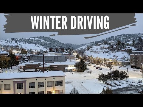 How to drive in winter weather conditions - montana living