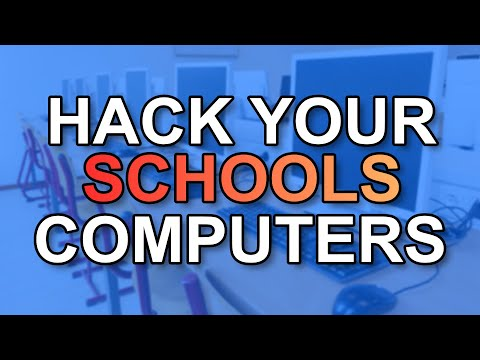How to turn off every computer on a school network!