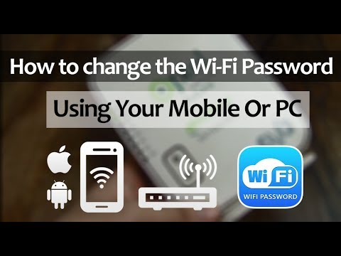 How to change your wifi name/password from phone or pc - tutorial