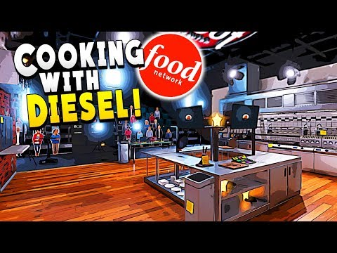 Food network gave me my own show and instantly regret it - cooking simulator gameplay