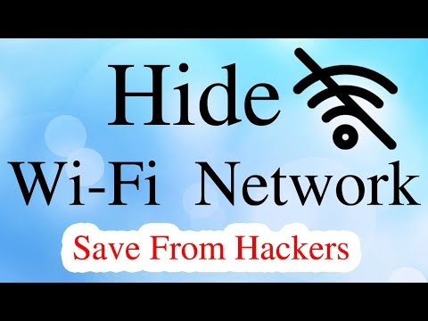 How to hide your wifi network for other
