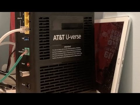 How to change your att router wifi gateway and internet connection