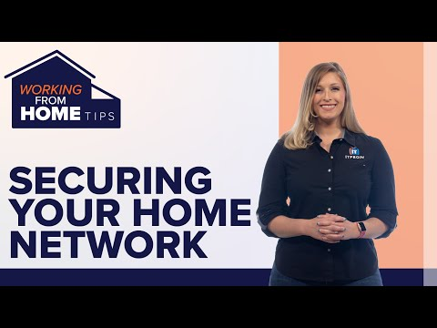 12 steps to securing your home wifi network | working from home tips