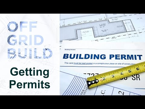 Starting a build - getting permits