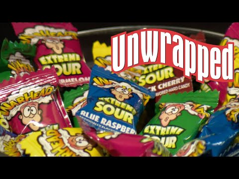 How warheads get so insanely sour | unwrapped | food network