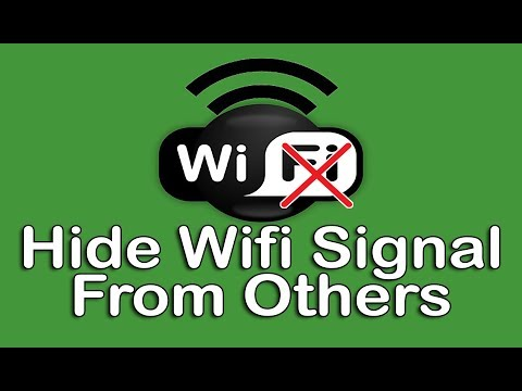 Hide your wifi network signal and connect to hidden ssid