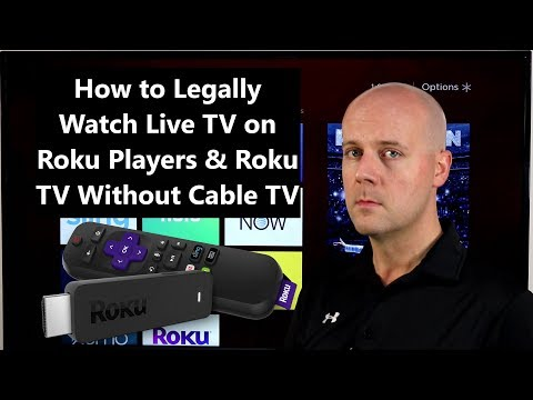 How to legally watch live tv on roku players & roku tv without cable tv