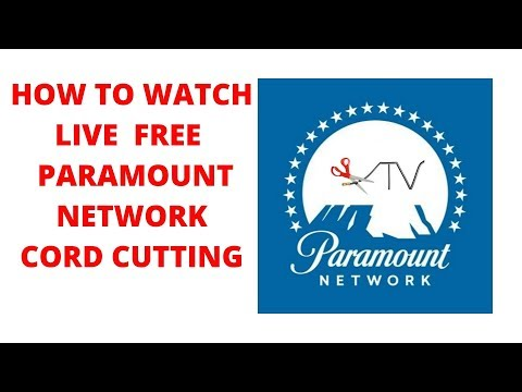 How to watch live paramount network channel free cut the cord