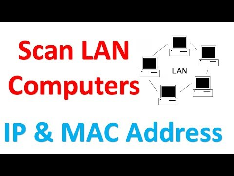 How to show all lan computers   network tutorial