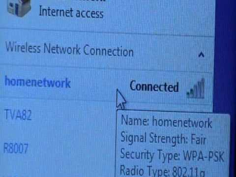 How to find your internet connection password