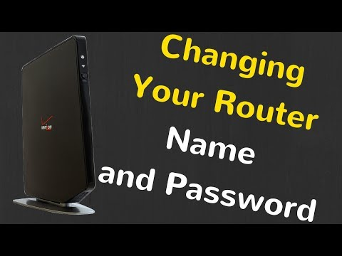 How to change network name and password on your verizon quantum router 2020