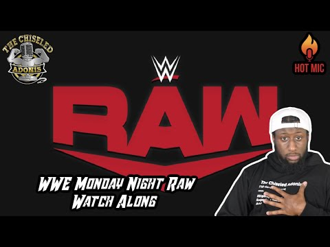 Watch wwe monday night raw with me   live watch party   chiseled adonis