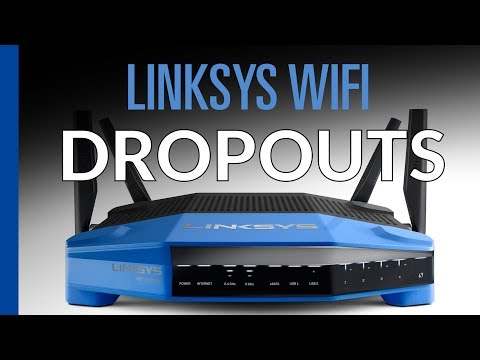 Linksys wifi dropping connection - possible solution