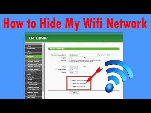 How to hide my wifi network 2017!