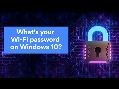 How to find your network security key on windows 10 | nordvpn