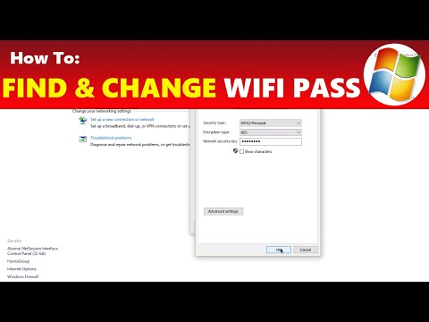 How to: find & change your wi-fi internet password