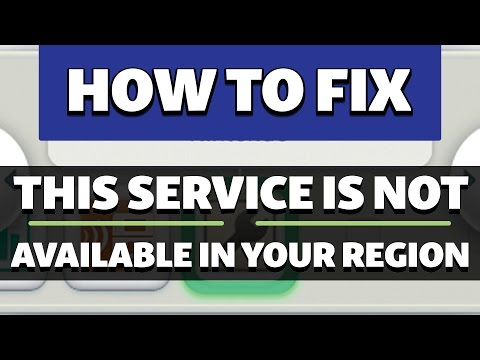 How to fix nintendo 3ds - this service is not available in your region