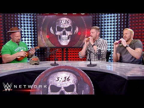 """Wwe network: edge & christian perform """"stone cold"""" steve austin's theme song: stone cold podcast"""