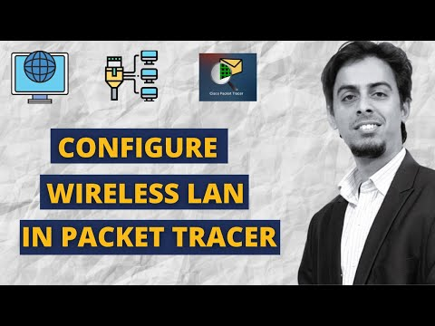 How to configure wireless lan (wlan) in packet tracer (ap & wlc)