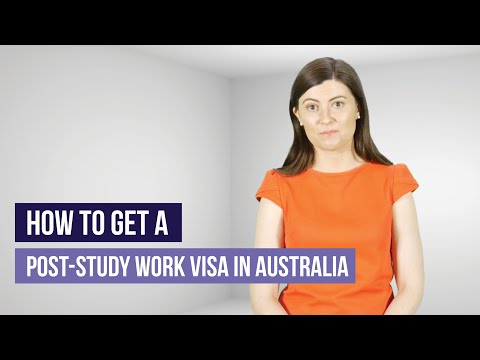 How to get a post-study work visa in australia in 2019