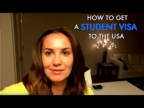 How to get a student visa to the usa