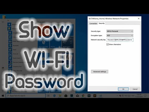 How to find saved wi-fi passwords on windows 10/8/7 computer - easy & free tutorial by new tech.