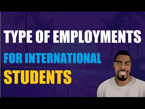 Type of employments for international students in the us | ben analyst