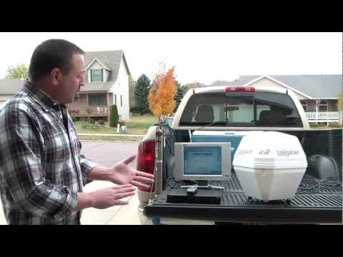 3. aiming, connecting & setup - dish network tailgater portable satellite antenna