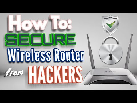 Tutorial: how to secure wifi router from hackers | tplink /netgear / linksys