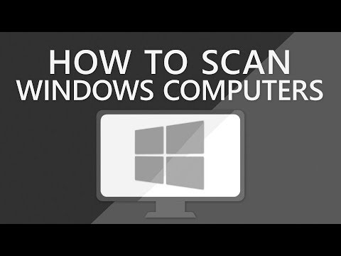 How to find all windows computers on network   windows network scanner