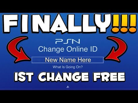 How to change your psn name or ps4 name on playstation