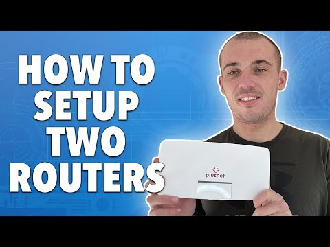 How to setup two routers on the same home network
