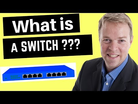 What is a switch in networking - how does a network switch work?