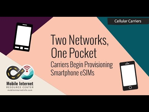 Two networks, one pocket: using iphone esim dual sim w/ verizon, at&t, t-mobile, gigsky and truphone