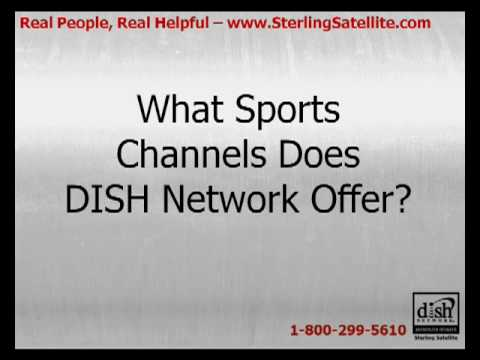 What sports channels does dish network offer