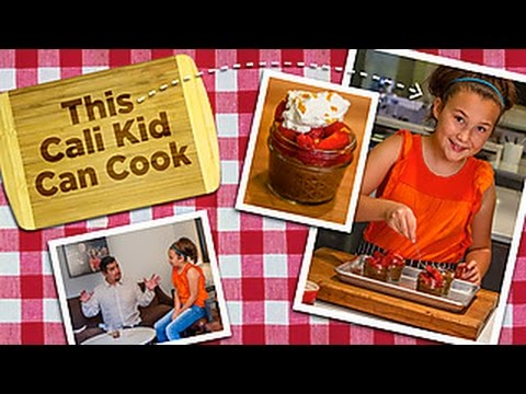 Chocolate avocado mousse for aarón sánchez | rachael ray's kids cook-off | food network